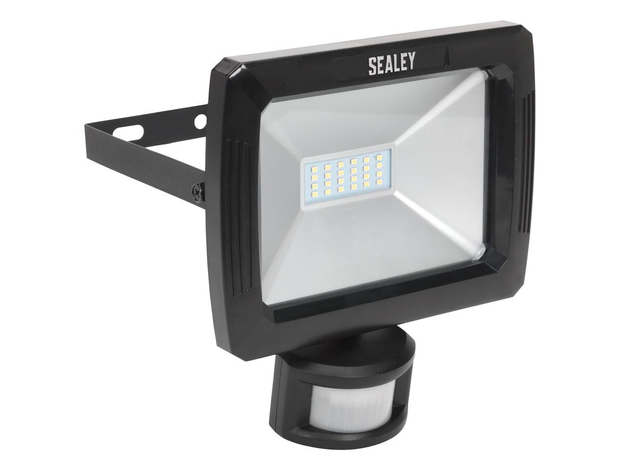LED087 Floodlight with Wall Bracket & PIR Sensor 20W SMD LED 230V