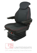 LG84C1AR Air Suspension Seat Cloth With Armrests & Back Extension