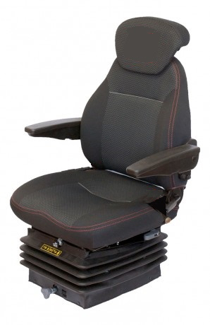 Air Suspension Seat With Armrests Back Ext & Horizontal Isolator
