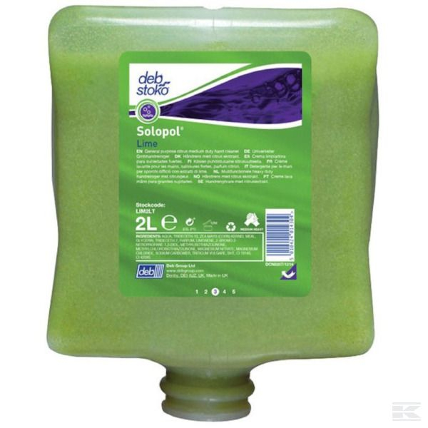 LIM2LT Lime Wash Hand Cleaners 2 Litre