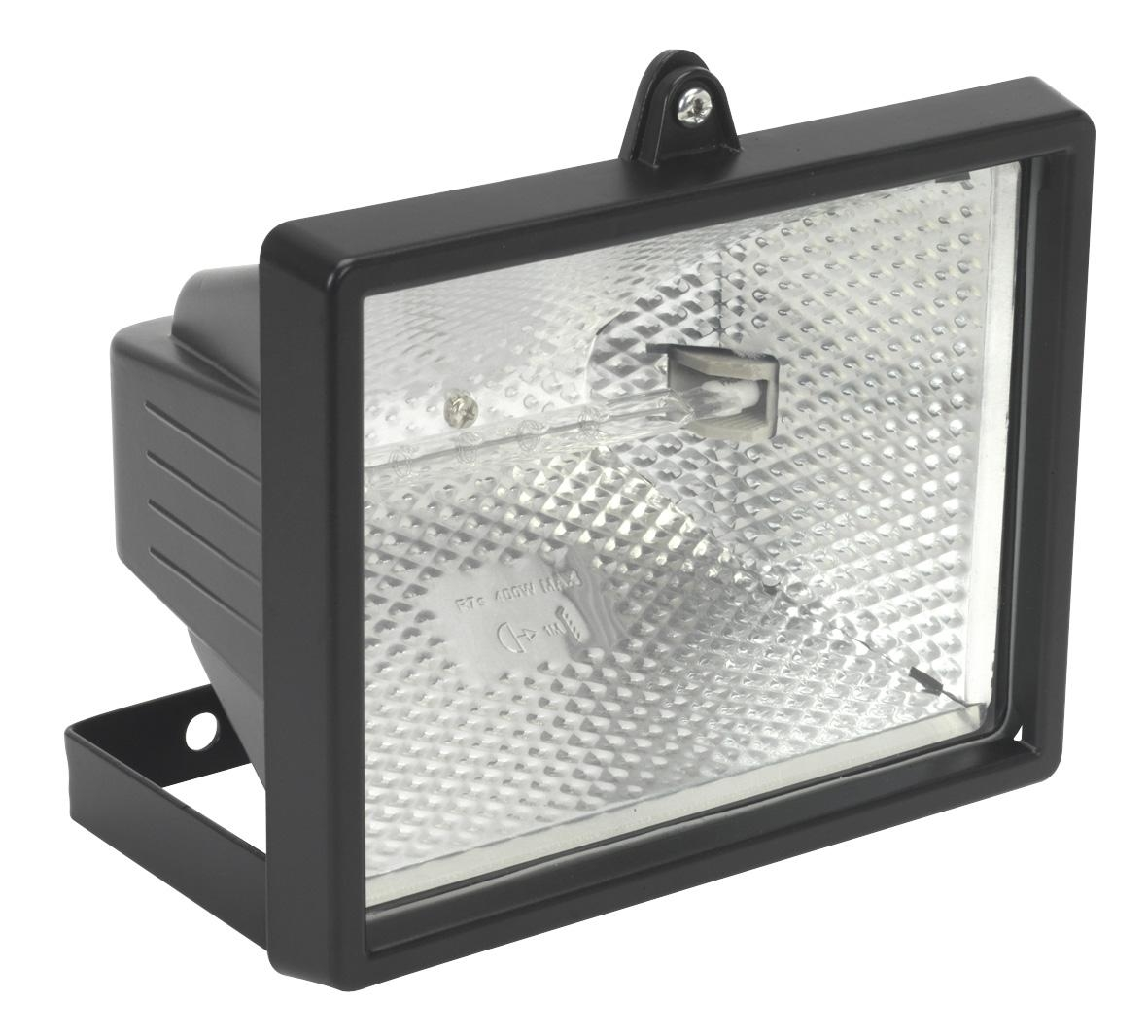 Tungsten/Halogen Floodlight with Wall Bracket 500W/230V
