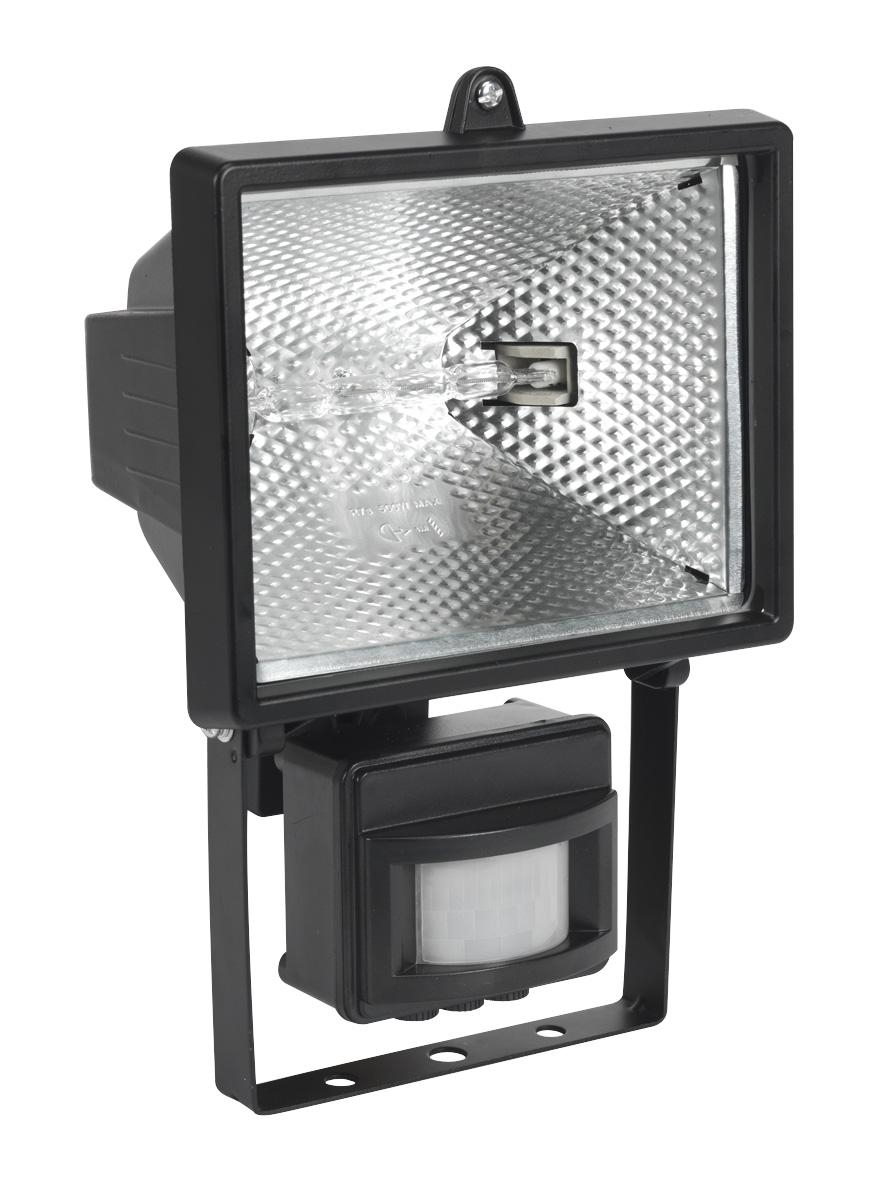 Halogen Floodlight with Wall Bracket & PIR Sensor 500W/230V