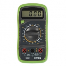 MM20HV Digital 8 Function Multimeter Hi Vis