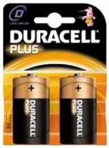 Duracell Size D - Pair