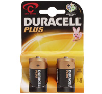 Duracell Size C - Pair
