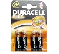 Duracell Battery AA - Pack 4