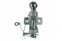 MP84 Ball & Pin Hitch - 50mm Silver