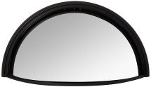 MX943 Ashtree Wide Angle Half Moon Mirror Head 220mm X 110mm