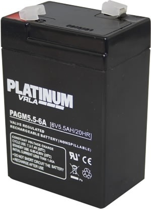 Sealed Rechargeable Battery PAGM5.5-6A
