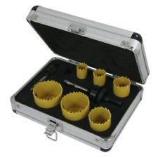 9pc Holesaw Set