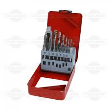 Metric 15 PC Tap & Drill Set