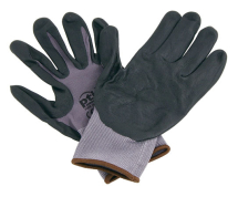 PTI Nitrile Foam Gloves Size 9 Large