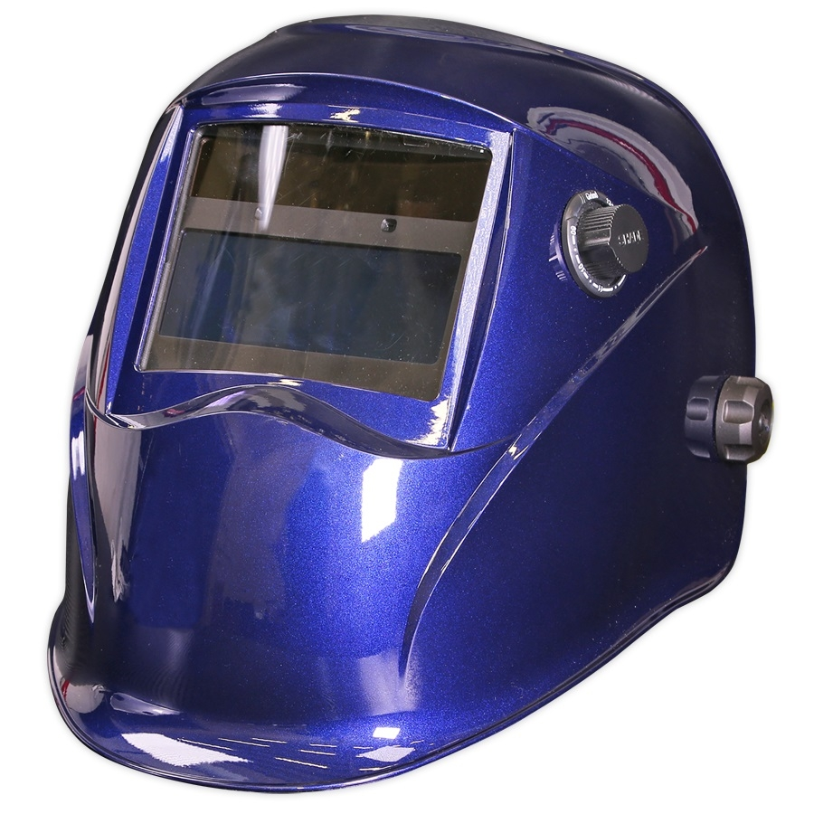 PWH611 Sealey Welding Helmet Auto Darkening Shade 9-13 - Blue