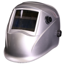 PWH613 Sealey Welding Helmet Auto Darkening Shade 9-13 - Silver