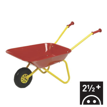 R27080 Red metal Wheel barrow