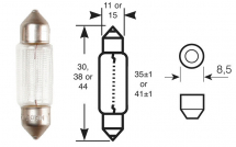 RB239 - Bulb C5W Festoon Single Box