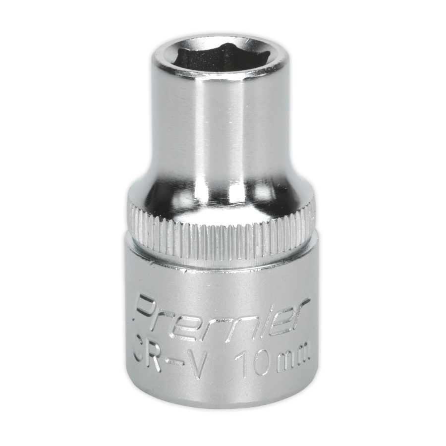 WallDrive Socket 10mm 1/2InchSq D Drive