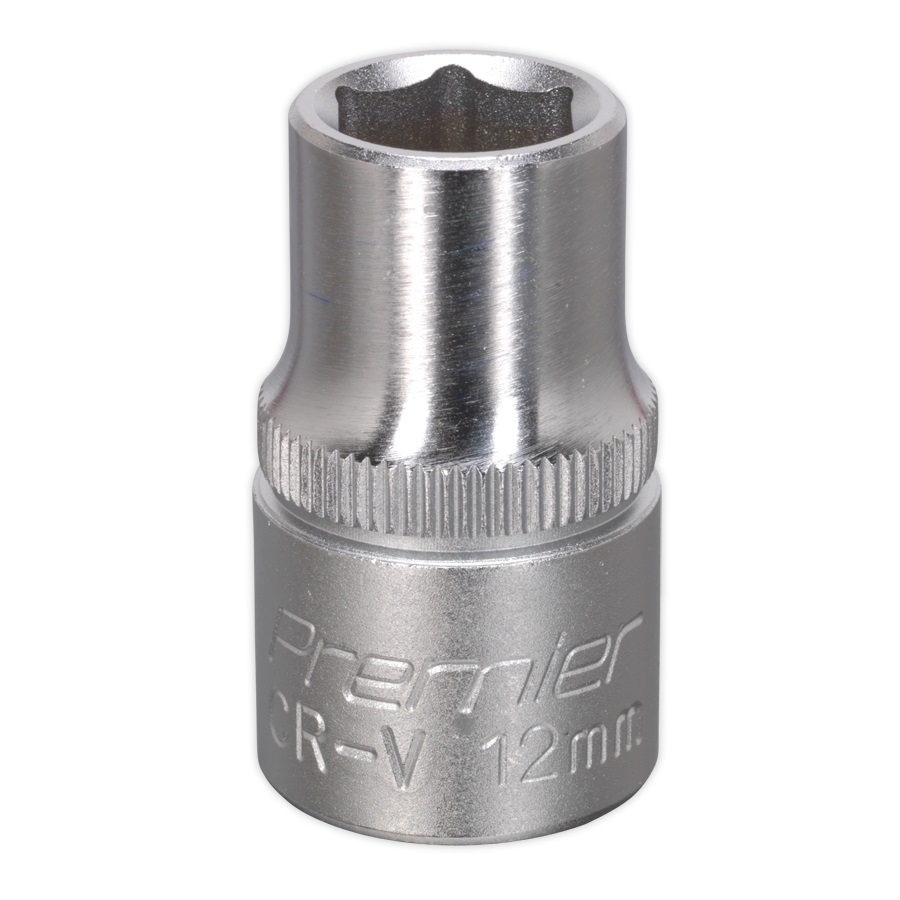 WallDrive Socket 12mm 1/2inchSq D Drive