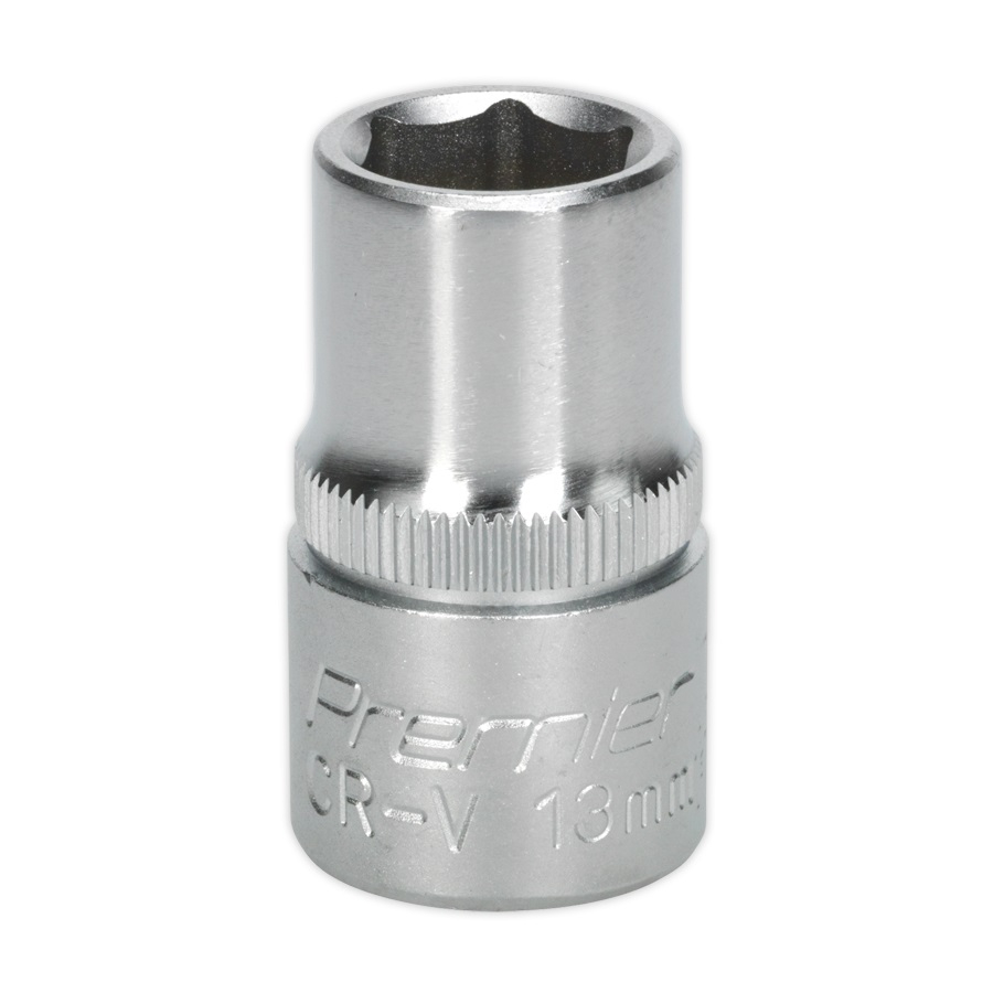 WallDrive Socket 13mm 1/2inchSq D Drive