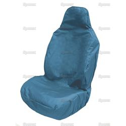 Seat Cover Blue Front