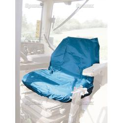 Tractor Seat Cover Low Back Blue