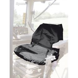 Tractor Seat Cover Low Back Black