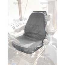S71831 Seat Cover Large Tractor Grey