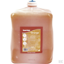 SORC4LTR Orange hand cleaner 4 Litre Polybead Free, Natural product hand cleaner