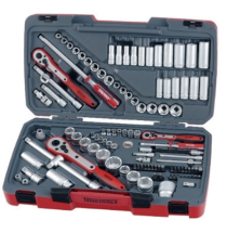 Teng TM111 111 pce 1/4inch, 3/8inch & 1/2inch Tool set AF / Metric