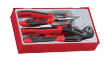 4 Pc Mega Bite Plier Set