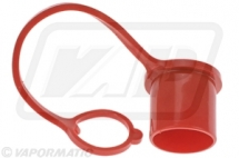 VFL1019 Red Dust cap for 3/8inch and 1/2inch