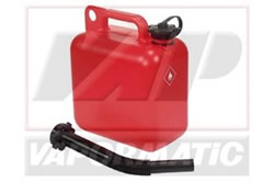 VLB3045 Plastic fuel container red 5l (petrol)