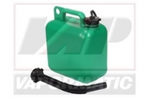 VLB3046 Plastic fuel container green 5l (unleaded)