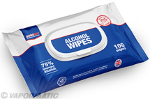 VLB4339 Isopropyl Alcohol 75% Hand Wipes 100 pack