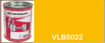 VLB5022 JCB machinery industrial yellow paint - 1 Litre
