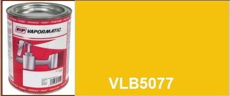 VLB5077 JCB machinery old yellow paint - 1 Litre