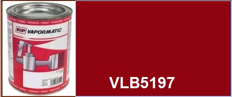 VLB5197 McCormick tractor IH red paint - 1 Litre