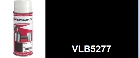 VLB5277 Black Matt paint High Temperature - Aerosol - 400ml