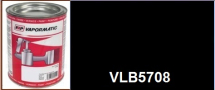 VLB5078 Black matt High Temperature paint - 1 Litre