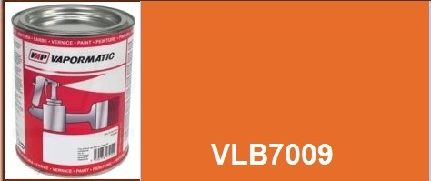 VLB7009 Kubota tractor orange paint - 1 Litre