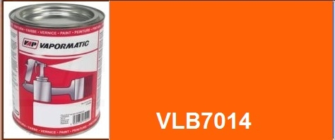 VLB7014 Hitachi machinery Orange paint - 1 Litre