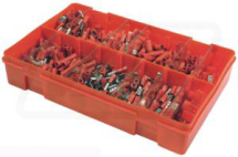 VLC2404 Red Electrical terminals pack