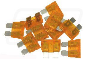Blade fuse 5Amps (pack of 10)