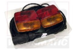 VLC6016 Magnetic trailer light kit 12m