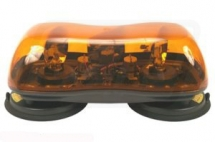 VLC6027 Rotating Amber Magnetic Lightbar 12/24v