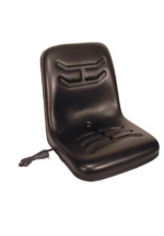 VLD1579 Seat - replacement Ride on Mower Seat Deck Type