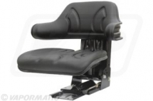 VLD1680 Mechanical Tractor replacement Seat Wrap around - Black