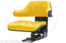 VLD1682 Mechanical replacement Tractor Seat Wrap around - Yellow