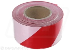 VLD1837 Barrier tape R&W  75mm x 500m