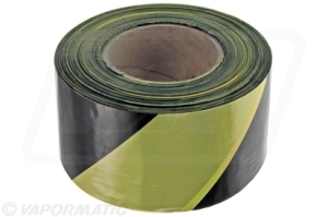 VLD1838 Barrier tape B&Y 75mm x 500m